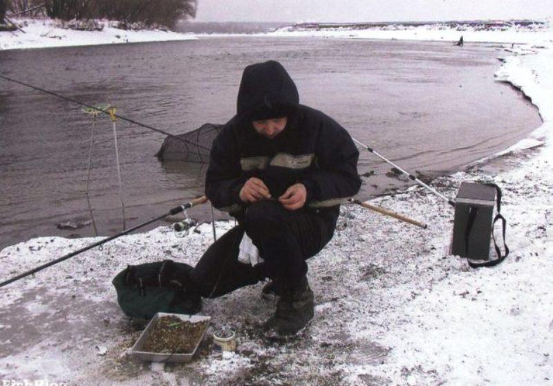Зимний фидер со льда оснастка фото